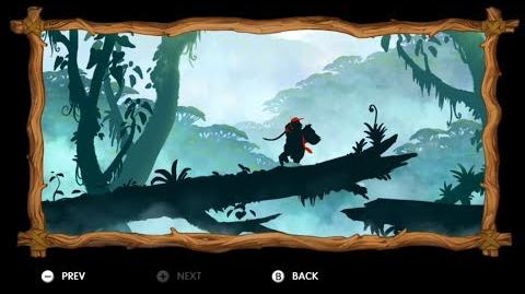 Donkey Kong Country Tropical Freeze - Level 1-B Busted Bayou Letters KONG Puzzle Pieces