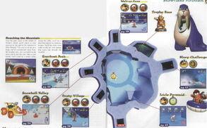 Snowflake mounatin map
