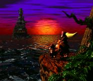 Últimos momentos de la Isla Cocodrilo