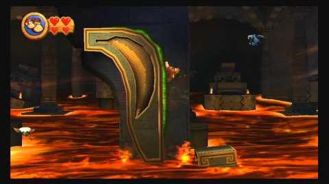 Donkey Kong Country Returns ~ World 2-K (Tumblin' Temple) Puzzle Piece Guide-0