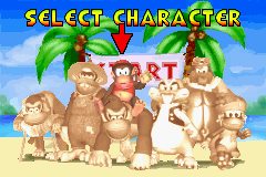 DKP Character Select