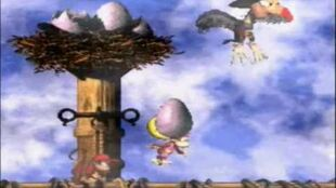 Donkey Kong Country 2 - Krow