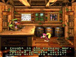 Bazooka Bear Kremean War Donkey Kong Country 3- Dixie Kong's Double Trouble!