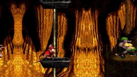 Donkey Kong Country (SNES) - Kremkroc Industries, Inc. - Elevator Antics