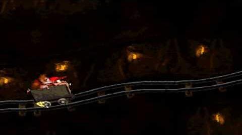 Donkey Kong Country (SNES) - Kremkroc Industries, Inc. - Mine Cart Madness