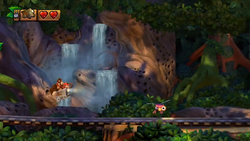 Donkey Kong Country Tropical Freeze Level 1 4 Trunk Twister