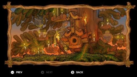 Donkey Kong Country Tropical Freeze - Level 2-3 Horn Top Hop All Puzzle Pieces KONG Letters