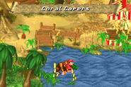 Coral Capers Advance - Overworld