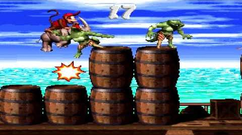 Donkey Kong Country 2 (SNES) - Gangplank Galleon - Pirate Panic
