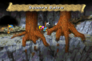 Swoopy Salvo Advance Overworld - Donkey Kong Country 3