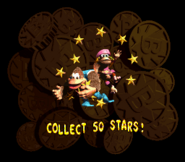 DKC3 Collect Stars