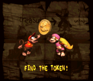 DKC2 Find the Token