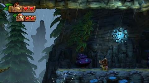 Donkey Kong Country Tropical Freeze - Level 2-4 Sawmill Thrill Unlocking Bonus Stage 2-A