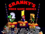 Cranky's Video Game Heroes