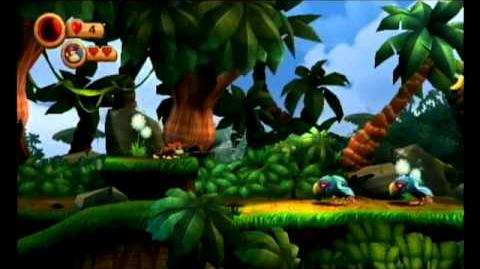 Donkey Kong Country Returns Diddy Kong Only Gameplay
