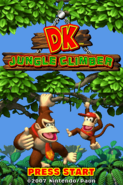 DK - Jungle Climber Title Screen