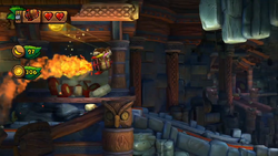 Donkey Kong Country Tropical Freeze Level 2 B Rodent Ruckus
