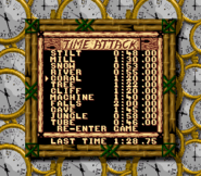 Time Attack Super Game Boy (Donkey Kong Land III)