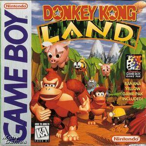 Donkey Kong Land Box Art