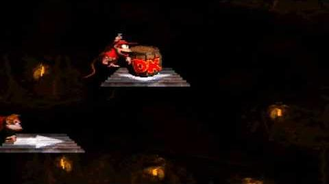 Donkey Kong Country (SNES) - Chimp Caverns - Platform Perils