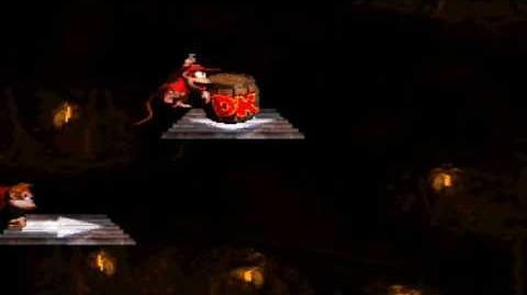Donkey Kong Country (SNES) - Chimp Caverns - Platform Perils