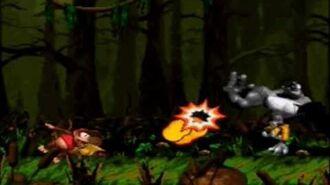 Donkey Kong Country 2 - Kudgel