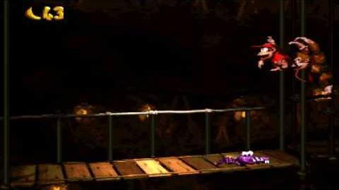 Donkey Kong Country (SNES) - Kremkroc Industries, Inc. - Trick Track Trek