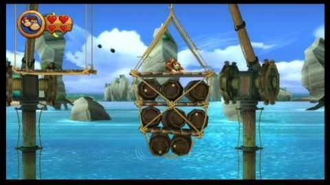Donkey Kong Country Returns 100% (2- 1 Poppin' Planks)