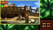Donkey Kong Country Returns 3D - Level 9-2 Gushin' Geysers 100% Walkthrough (3DS Exclusive Level)