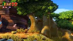 Donkey Kong Country Tropical Freeze Level 3 2 Baobab Bonanza