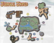 Jungle japes map