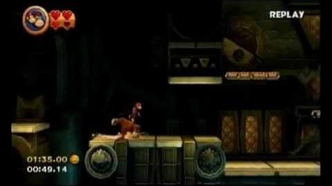 Donkey Kong Country Returns - 3-5 Itty Bitty Biters - 1 09.69 (Shiny Gold Medal)