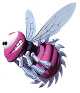 Buzz morado