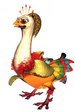 Banana Bird Queen