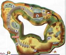 Jungle falls map
