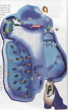 Frosty village map