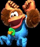 Kiddy Kong - Donkey Kong Country 3 - Artwork 1