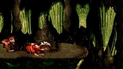 Donkey Kong Country (SNES) - Chimp Caverns - Manic Mincers