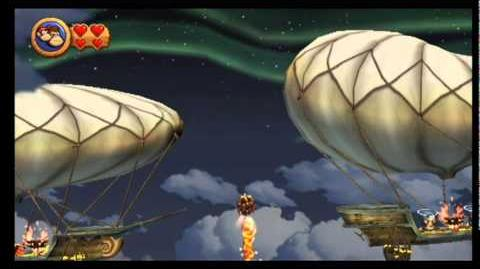 Donkey Kong Country Returns - 7-R Lift-off Launch
