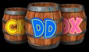Partners Barrels - Donkey Kong Country Tropical Freeze