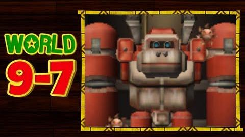 Donkey Kong Country Returns 3D - 9-7 Robo Factory All Puzzle Pieces