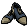 Begs The Question Blue Spectator Shoes Icon