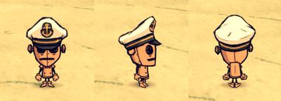 Captain Hat WX-78