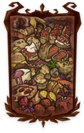 Burnished Cornucopia Portrait Background