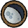 Moon Three Quarters