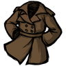 Werebeaver Brown Trench Coat Icon