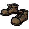 Wooden Nickel Brown Steel-Toed Boots Icon