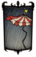 Big Top Umbrella Portrait Background