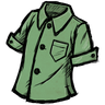 Willful Green Buttoned Shirt Icon