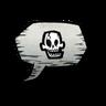 Skull Emoticon Icon